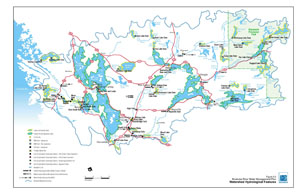 Watershed Hydrologic Features